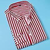 N\C Camisas de hombre Tops de manga larga de negocios de solapa Camisas de solapa Camisas de hombres y mujeres Camisas de manga larga sueltas camisas de hombre