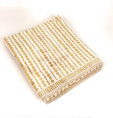 Carrara 1 Paar Frottee 1+1 100% Baumwoll-Frottee Bijoux Gold Farbe 001 Gold