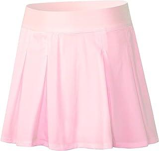 Sports skirt التنانير التنس للنساء أثلتيك جولف سكورتس اكياس رياضة التنانير الرياضية womens skirts (Color : Pink, Size : M)