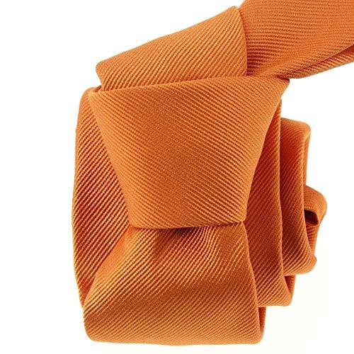Tony & Paul - Cravate Soie Italienne, Orange Rame