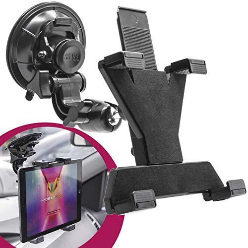 mobilefox 360° Car Holder Car Holder Mount for Tablet PC Samsung Galaxy Tab 4/3/2/S/Note/NotePro/TabPro/Active/Ativ, Ativ Q, Lite 7/7.0/8.0/8.47.7/8.9/10.1/10.5, 12.2
