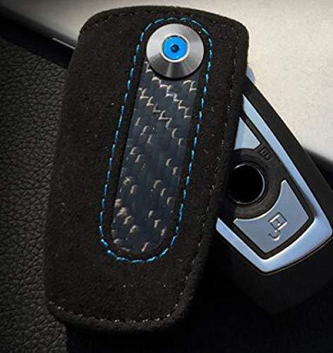 QADMJ Sleutelschaal lederen auto sleutelhanger houder covers portemonnee ringen sleutelhanger voor BMW X3 X4 voor BMW 1 3 4 5 6 7 serie voor BMW 3 5 serie GT