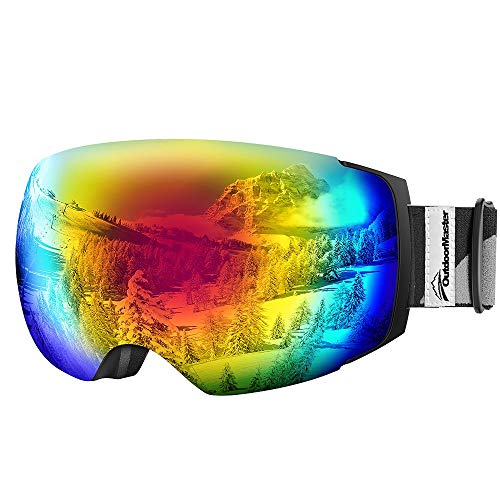 Our #3 Pick is the OutdoorMaster Ski Goggles PRO