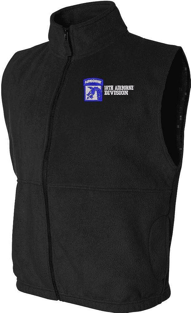 18th Airborne Division Sierra Pacific Full Zip Fleece Vest