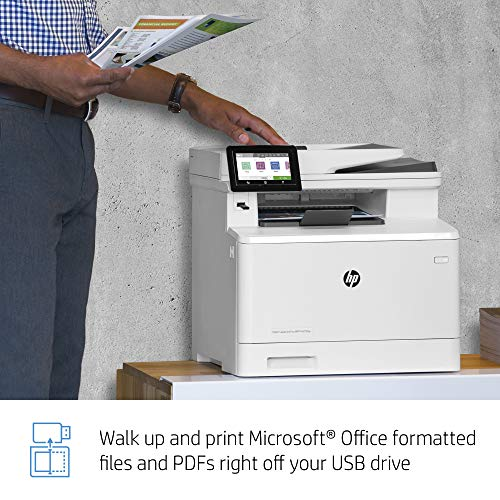 HP Color LaserJet Pro Multifunction M479fdn Laser Printer with One-Year, Next-Business Day, Onsite Warranty, Works with Alexa (W1A79A) – Built-in Ethernet Photo #12