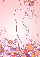 igsticker ポスター ウォールステッカー シール式ステッカー 飾り 1030×1456㎜ B0 写真 フォト 壁 インテリア おしゃれ 剥がせる wall sticker poster 001344 フラワー クール 花 女の子