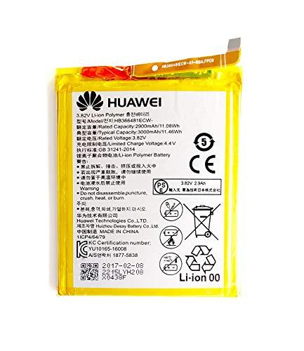 Batería de repuesto HB366481ECW para Huawei Ascend P9 y P9 Lite original 2900 mAh 3,82 V nueva 2017