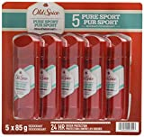 オールドスパイス ハイエンデュランス ピュアスポーツ デオドラント スティック 85g × 5個 並行輸入 Old Spice High Endurance Pure Sport 3.0 oz Pack of 5