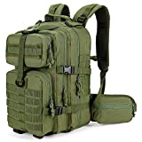 Gelindo Military Tactical Backpack, Army Molle Bag,3 Day Assault Backpacks, Small Rucksack for Hiking, Hunting, Camping, Trekking, School, 35L