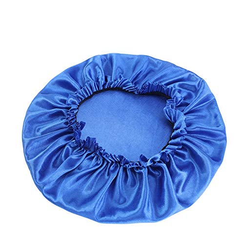 ZXF Femmes Bonnet Silky Jour Nuit de Sommeil Cap cosmétique Tenue Vestimentaire Cap Couleurs Bonbons Head Wear Accessoires Cheveux New Mode (Color : Royal Blue)