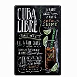 Original Vintage Design Cuba Libre Cocktail Rezept