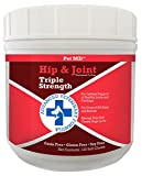 Pet MD Hip and Joint Supplement Glucosamine for Dogs – Triple Strength Allergy...