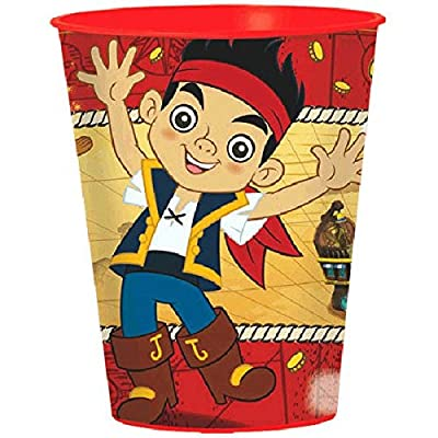 American Greetings Jake and the Neverland Pirates Party Supplies, Plastic Party Cup (1-Count)