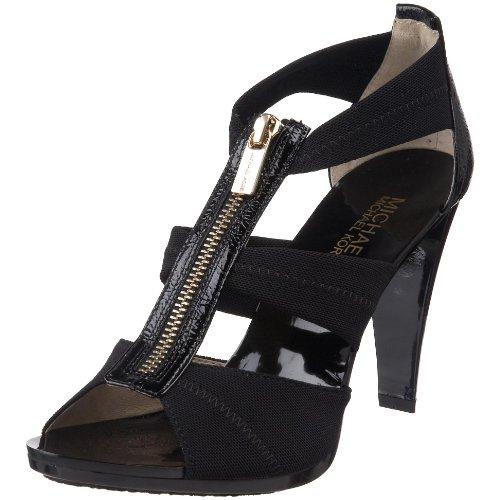 Michael Michael Kors Women's Berkley Sandals, Black, 6 B(M) US