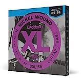 D'Addario EXL156 Jeu de 6 cordes pour Guitare/Basse électrique 24-84
