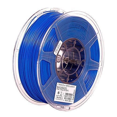 3D-Druckerfilament 1 kg, PLA + Filament 1,75 mm, höhere Zähigkeit-Blau