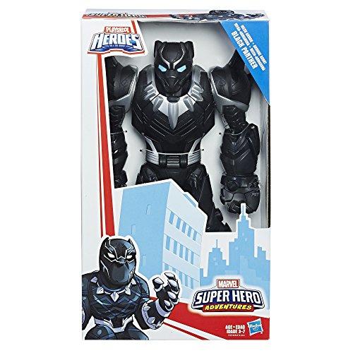 Playskool Heroes Marvel Super Hero Adventures Mech Armor Black Panther