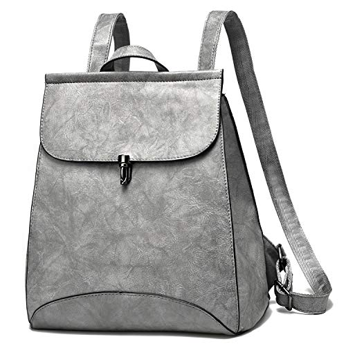 Women Fashion Backpacks Purse Pu leather Ladies Casual Rucksack Lightweight Travel Shoulder Bags