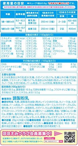 【Amazon.co.jp限定】明治ステップらくらくキューブ28g×48袋入り(景品付き)
