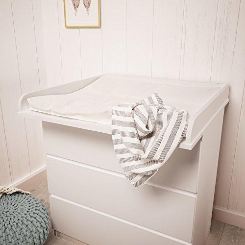Polini Kids - Cambiador para cómoda Malm IKEA de Madera (Blanco)