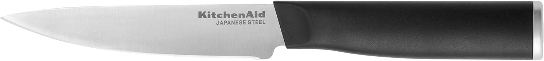 Max 82% OFF KitchenAid Classic Fine-Edge Utility 4.5-Inch Black Industry No. 1 Knife