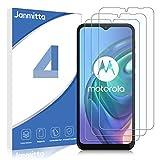 Janmitta para Motorola Moto G9 Play/Motorola Moto E7 Plus/Moto G10/Moto G30 Protector de Pantalla [3 Piezas], 9H Dureza [Alta Definicion] [Fácil de Instalar] Cristal Vidrio Templado Film