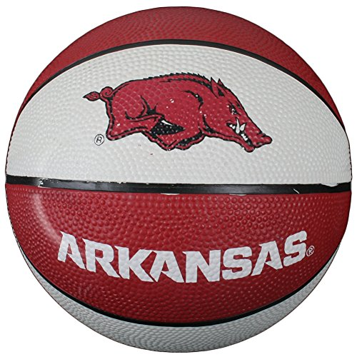 Sale!! Arkansas Razorbacks Mini Rubber Basketball