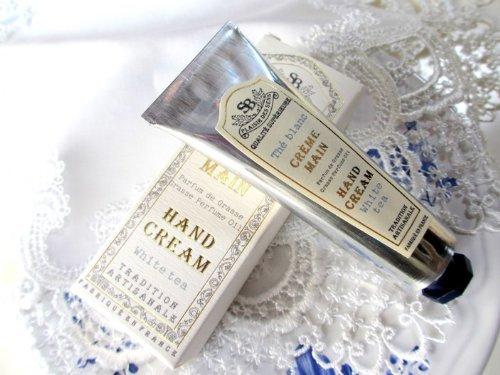 サンタール・エ・ボーテ(Senteur et Beaute)『フレンチクラシック ハンドクリームS ホワイトティー』
