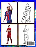 Zoom IMG-1 football stars colouring book amazing