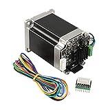 Modifique la corriente, micropasos y parámetros, por USB serial y OLED. La frecuencia del procesador es de hasta 72 MHz y la frecuencia de retroalimentación de bucle cerrado es de hasta 8 kHz para evitar perder pasos durante la impresión. Codificador...