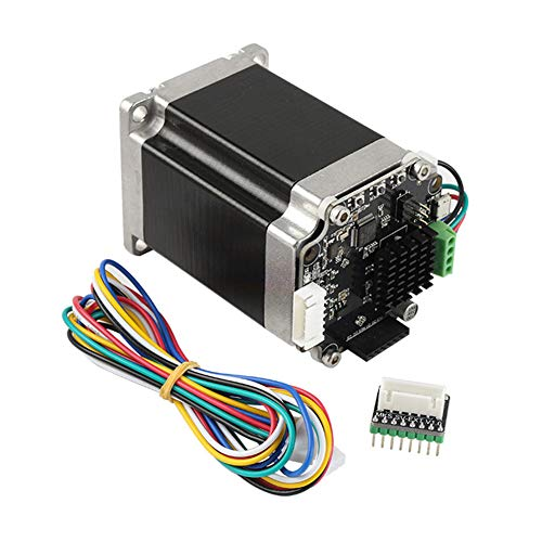 LYXMY Schrittmotor-Set, 3D-Drucker STM32 42 V2.0.Bin Closed-Loop-Stepper, SERVO57B Printing 3D Printer Adapter Stepper Motor Set, Without Display, Free Size