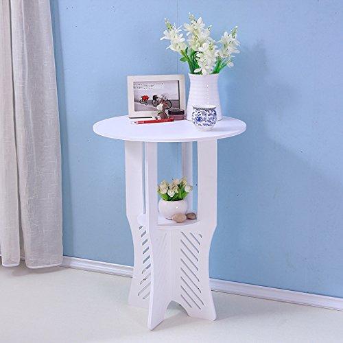 LITINGMEI Shelf LT Weißer Schreibtisch, Balkon Boden Blumenregal, Garten Regal