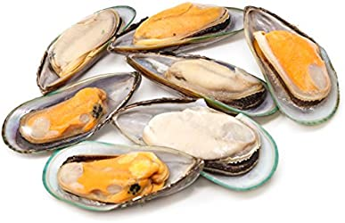 Serve by Hai Sia Seafood Sustainable Half-shell Mussels, 200g - Frozen