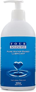 Four Seasons Pure Water Based Lubricant, 500 milliliters