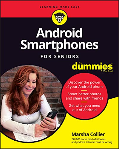 Android Smartphones For Seniors For Dummies