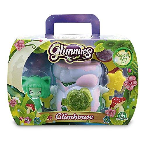 Giochi Preziosi - Glimmies Glimhouse con Mini-Doll Esclusiva, Modelli Assortiti, 1 pezzo
