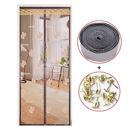 Xervg Screen Deur Gordijn Woonkamer anti-muggen deur gordijn voor kinderen huisdieren handig