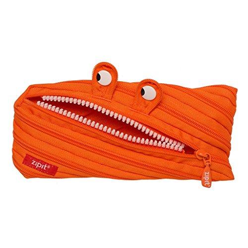 ZIPIT Monster Pencil Case, Orange