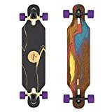 Loaded Boards Icarus Bamboo Longboard Skateboard Complete w/ 75mm 83a Durians (Flex 1)