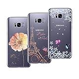 Yokata 3X Coques pour Samsung Galaxy S8 Plus Silicone Souple Étui Transparent Bumper...
