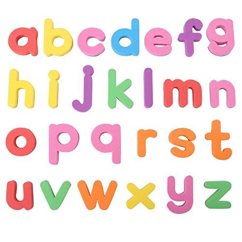Zerodis Conjunto Completo Letras del Alfabeto del bebé magnético números para niños Rompecabezas imán de Nevera Educativo Juguete de Aprendizaje Regalo de cumpleaños de los niños(# 2)