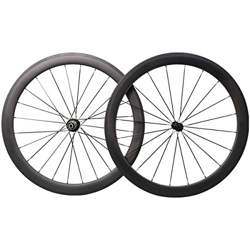Aero Carbone 50mm Rroue Vélo Route Clincher Shimano 10/11 Vitesses 1560g