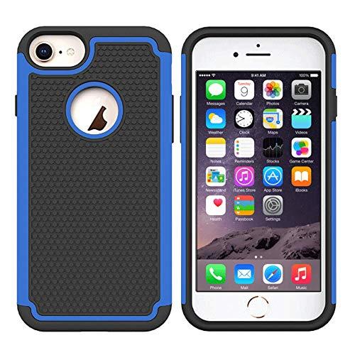 Roar Handyhülle für iPhone 6 Plus / 6S Plus Hülle Outdoor Bumper Schutzhülle Backcover [Shockproof Cover, Stoßfest, Robust] - Blau
