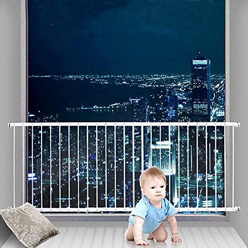xunhxwl Balcón de Seguridad para niños Barrera de protección de la Cerca de bebé Fácil de Instalar-Alto 80cm_89~96cm