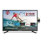 Ferguson F3220RTSF 32 inch Smart LED TV/DVD Download Apps Netflix