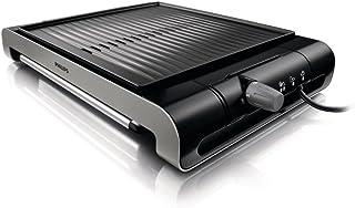 Philips HD4417 - Barbacoa (Negro, Acero inoxidable, Aluminio, De plástico, Acero inoxidable, Listo, 3,7 kg)