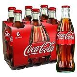 Botella Coca-Cola original de cristal 6 x 330ml