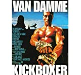 ZOEOPR Poster Kickboxer Classic Movie Series Poster