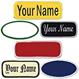 Name Patches Uniform or Work Shirt, Personalized, Embroidered New styles New Fonts! Multiple Sizes to choose from. Same Day Ship.