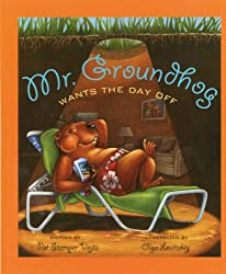 Mr. Groundhog Wants the Day Off is a great read aloud choice for Groundhog Day. In the story, Mr. Groundhog asks his friends to take over his holiday duties and in return, Mr. Groundhog learns why he is the best animal for the job.